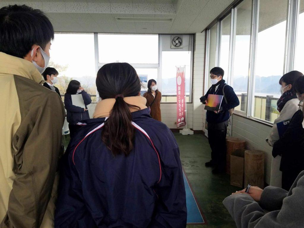 笠山の展望台