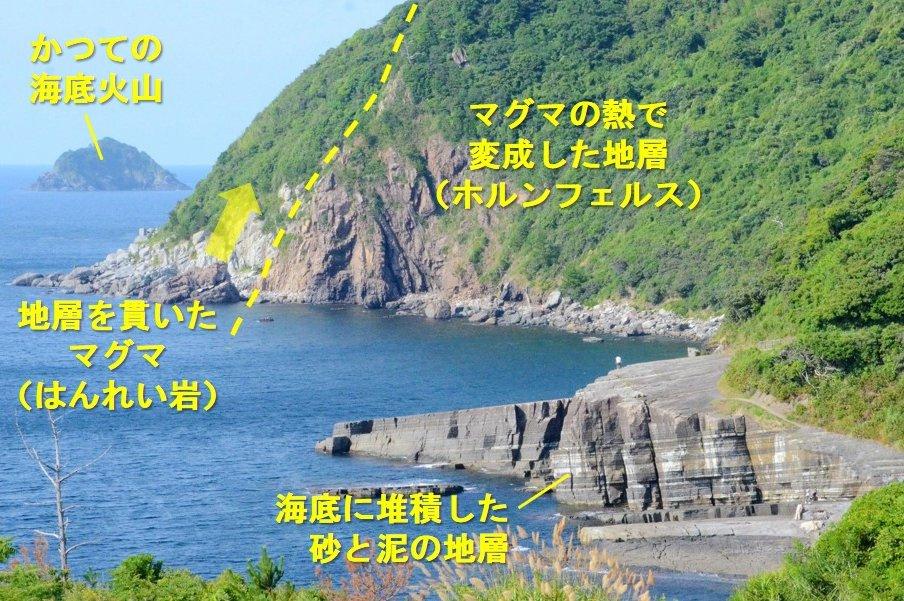 日本海のマグマの活動のイメージ03