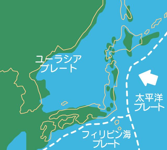 日本海のマグマの活動のイメージ01