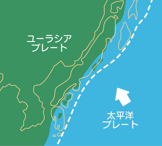 大陸のマグマの活動のイメージ01