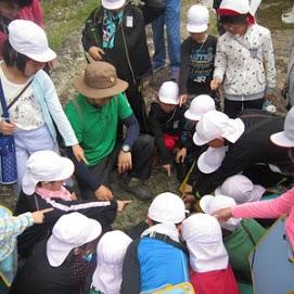 長門峡自然学習の写真03