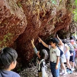 火山の成り立ちワークショップ in 笠山の写真04