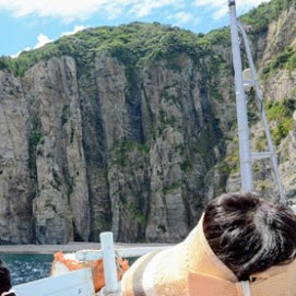 須佐湾ジオクルージングの写真04