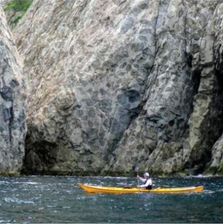 【シーカヤック】モドロ岬ジオピクニック