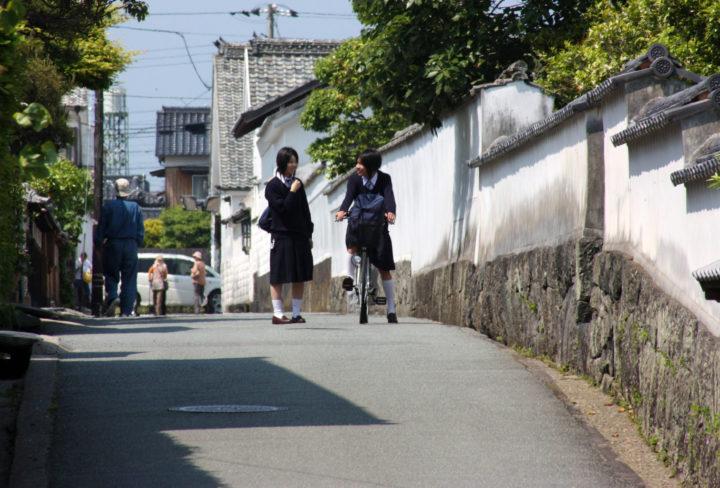 萩城下町の写真