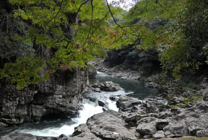 長門峡の写真