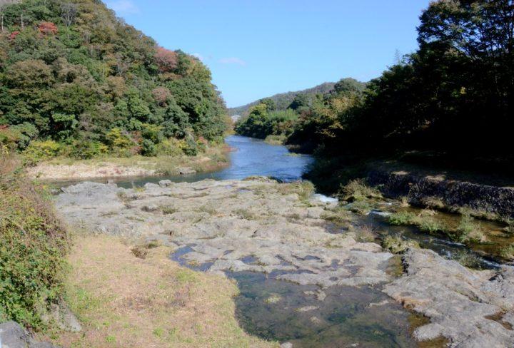 丁字川出合淵の写真