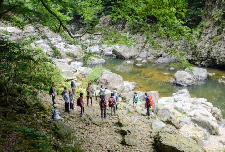 長門峡遊歩道散策の写真02