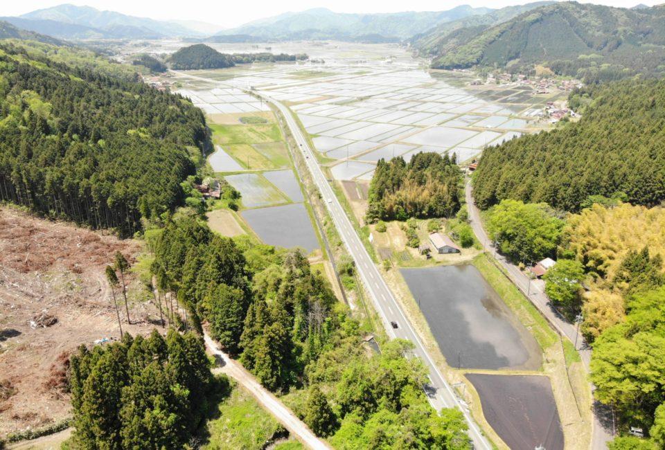 徳佐盆地の写真